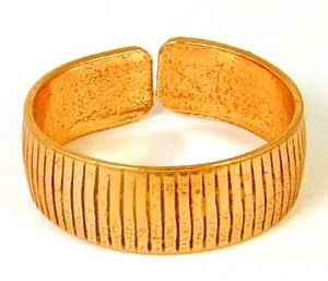 Z2: Patterned Copper Ring